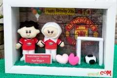 merchandise boneka couple jersey manchester united