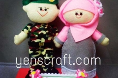 boneka-profesi-TNI-couple